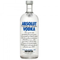 Vodka Absolut  marca
